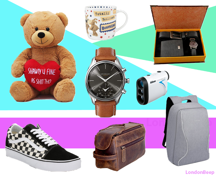 Best Christmas Gifts for Boyfriends 2018 London, UK