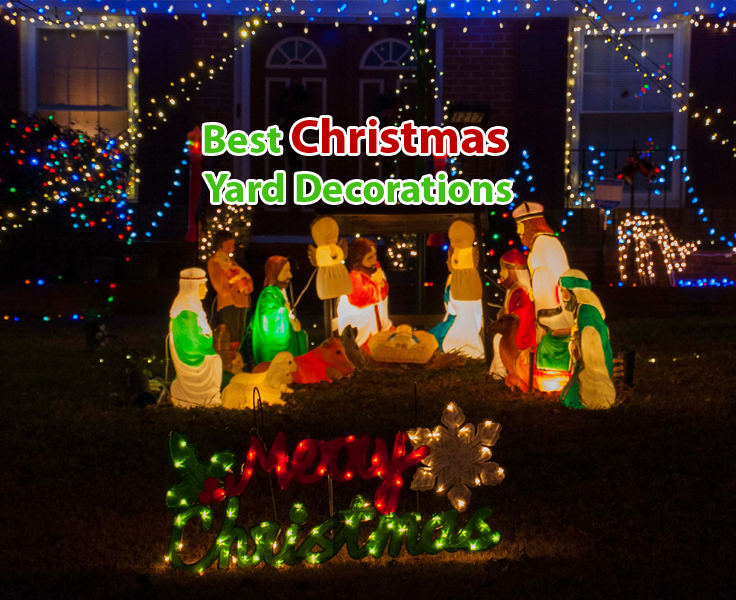 11 best christmas yard decorations 2018 london uk london beep - Best Christmas Decorations Uk