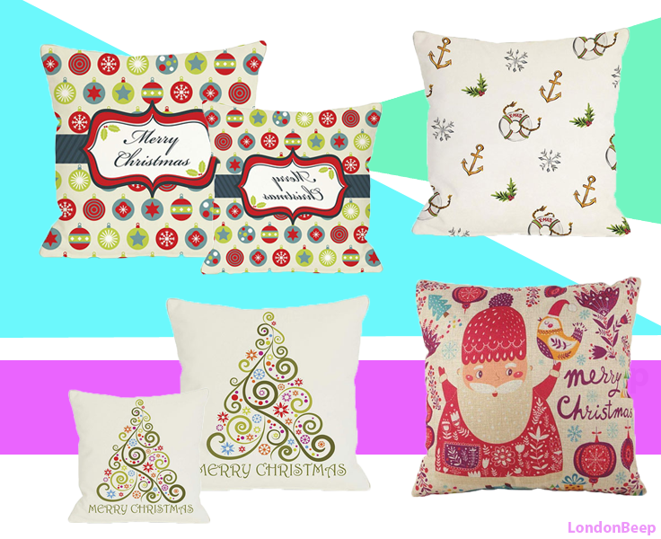 Best Christmas Pillow Covers London UK