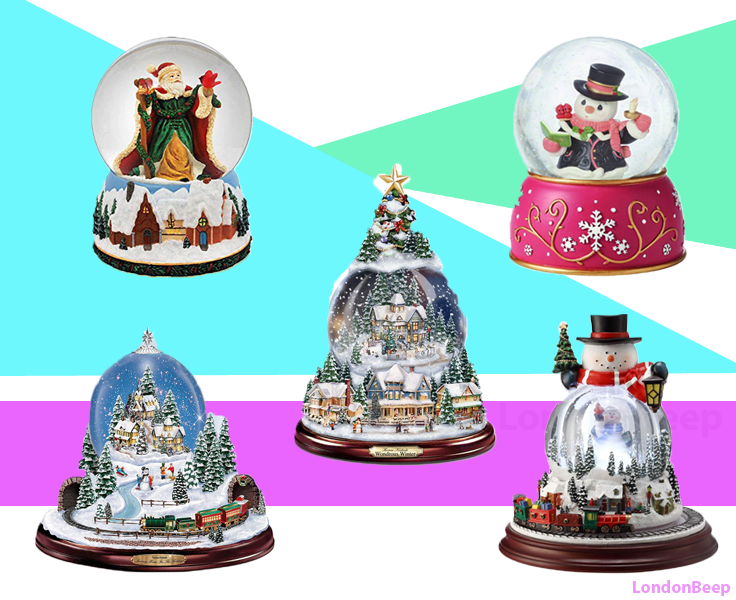 14 Top & Best Christmas Snow Globes 2020 UK