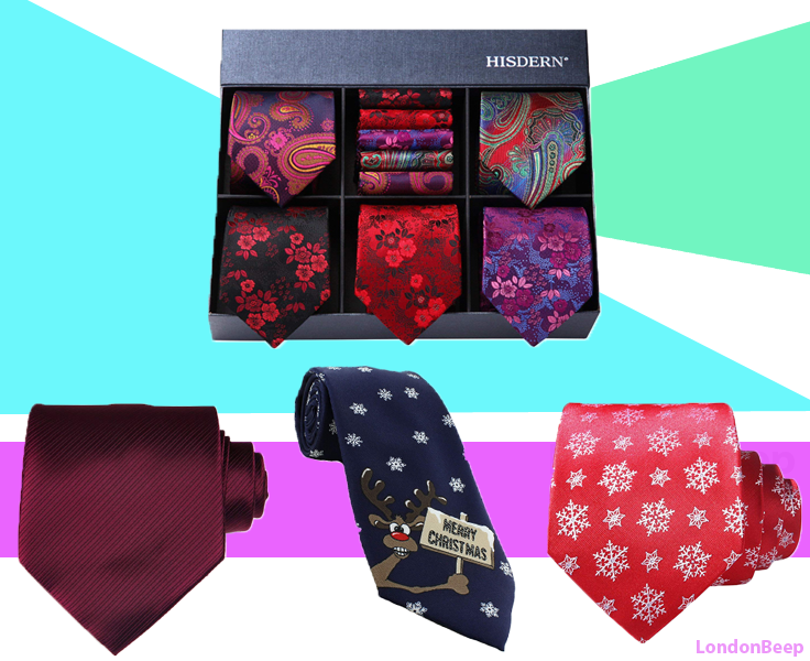 Best Christmas Ties for Men London, UK