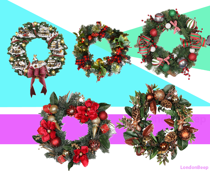 Top Best Christmas Wreath in London UK