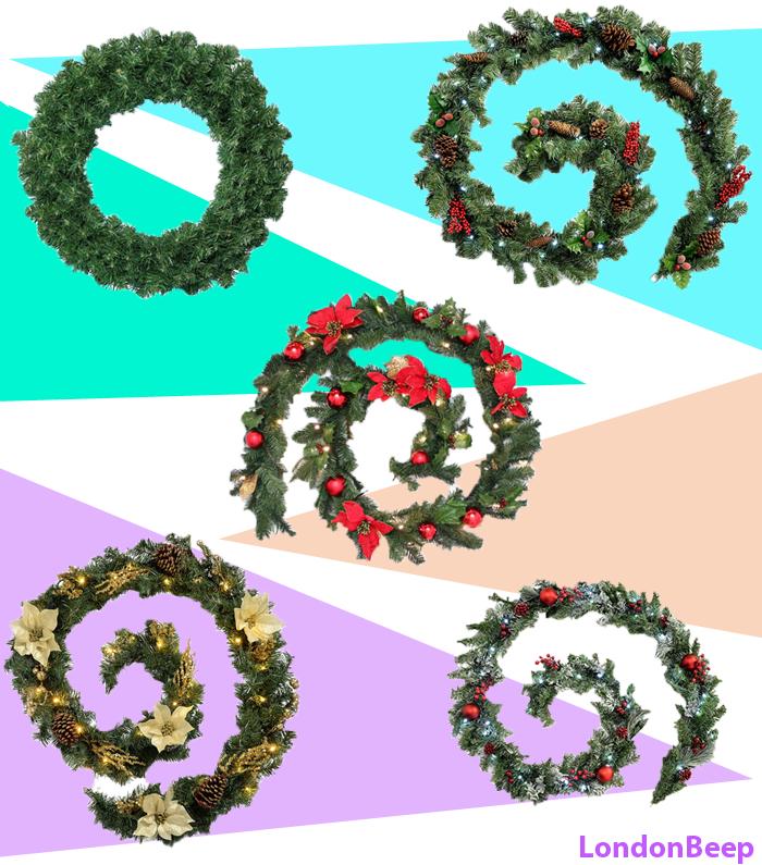 15 Best Christmas Garlands 2020 UK - London garland ideas