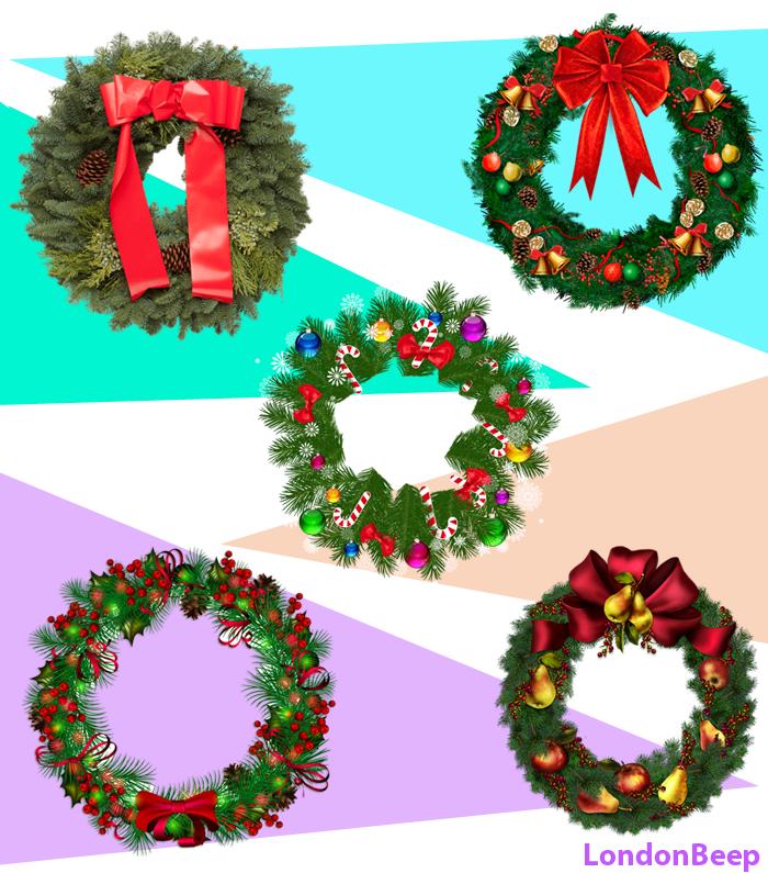 Artificial Christmas Wreaths 2020 UK, London