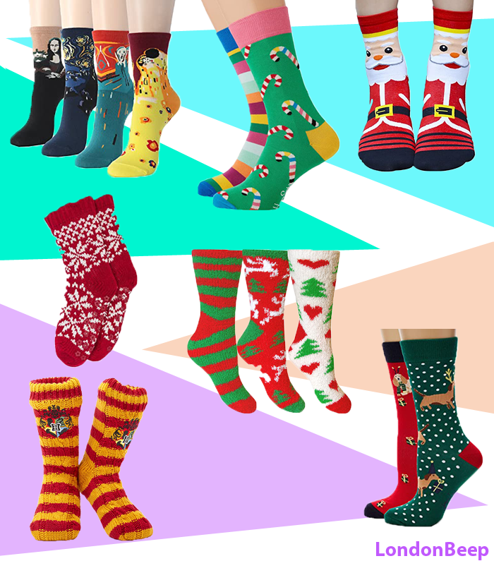Holiday Socks for Women / Men/ Kids - Cute Holiday & Christmas Socks 2020
