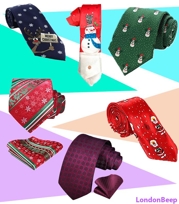 Best Christmas Ties for Men 2020 UK
