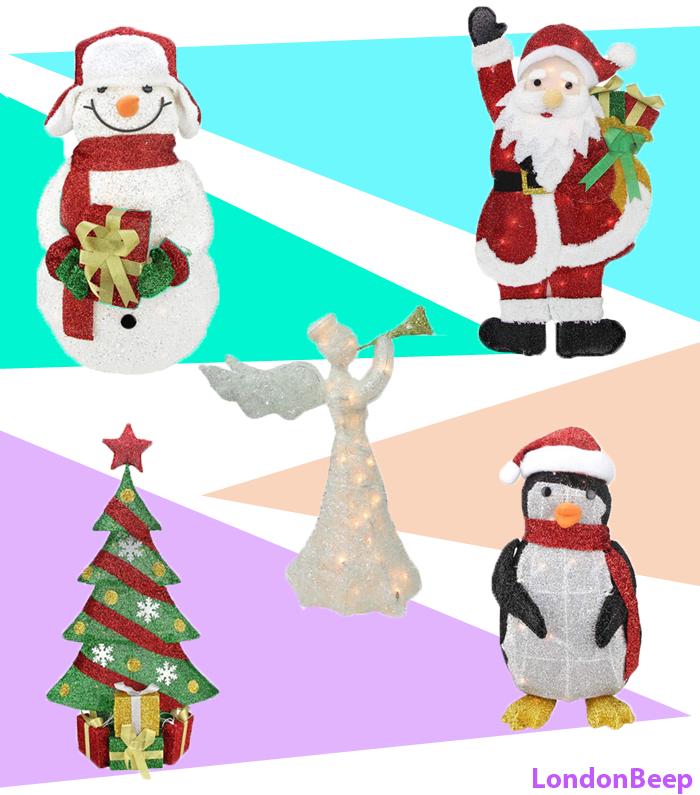 14 Best Christmas Tinsel Decoration Ideas 2020 UK