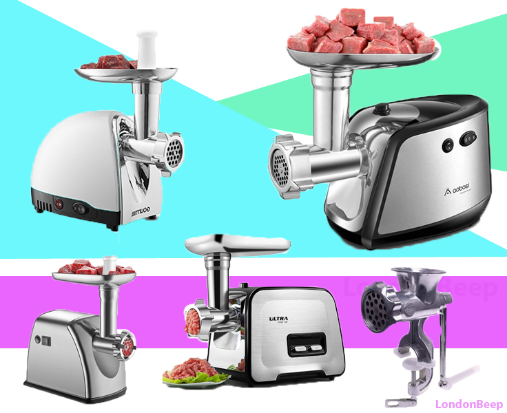 Top 10 Best Meat Grinder 2021 UK for All Meat-Lovers