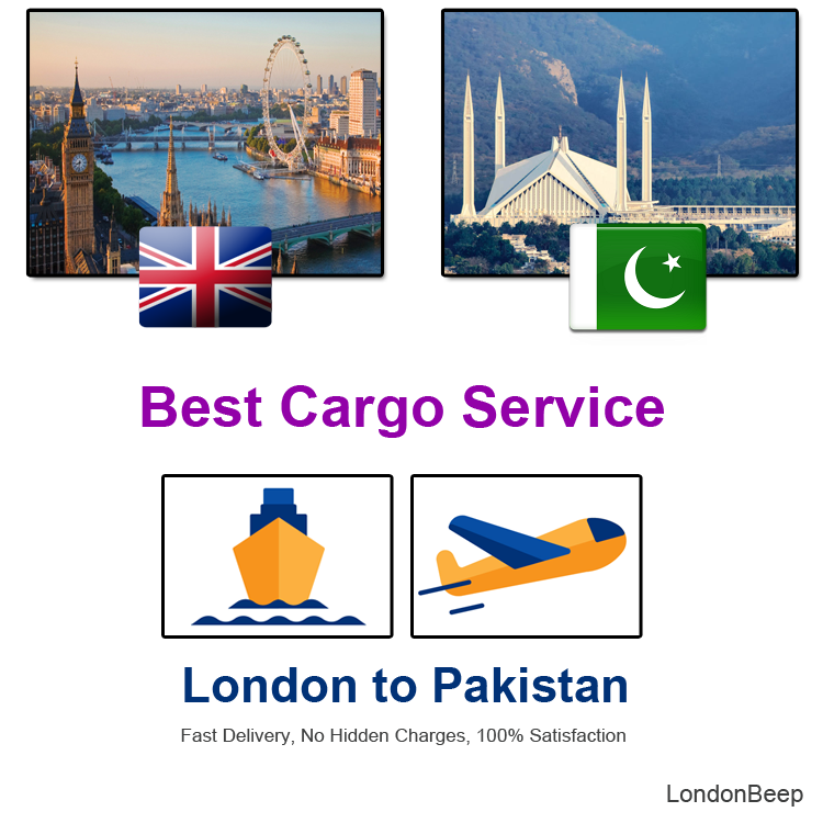 Best Cargo Service from London to Pakistan UK 2020
