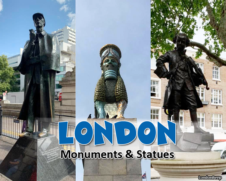 Best London Monuments & Statues with Photos UK