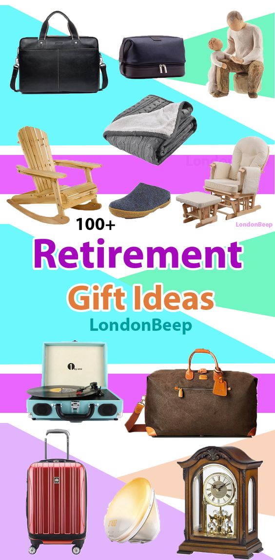 Best Retirement Gifts in London, UK - Amazing Retirement gifts for Professor/ Teacher, Parents, Boss, Nurses, Doctor, Colleagues