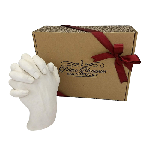 Holding Hands Casting Kit - Best Anniversary Gifts for Couples UK