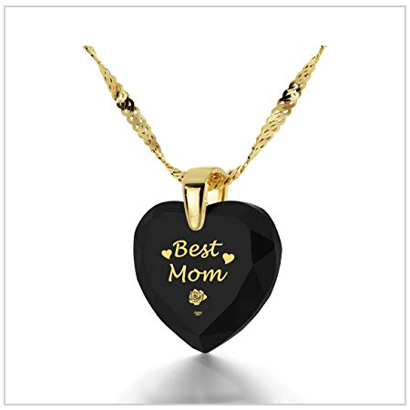 Gold Plated Heart Necklace for Mum 2020 UK
