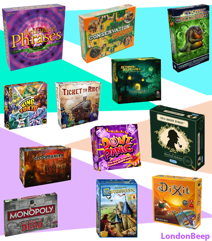 Best Board Games 2020 UK for Adults and Family