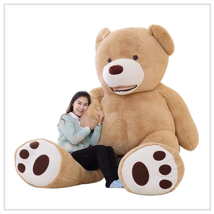 Giant Teddy Bear- Valentine' s day gift for spouse 2020 UK