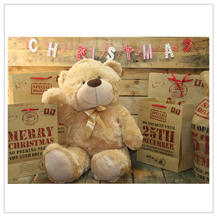 Plush Giant Sitting Teddy Bear- Soft Toys Valentine' s day gifts for romantic couple 2020 UK