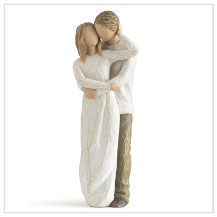 Willow Tree Together Figurine - Valentine's Gifts Under £50 for the romantic couple 2020 UK