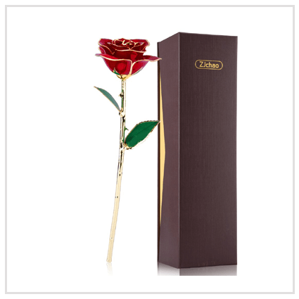 24k Gold Rose- Valentine's day Roses for Her 2020 UK