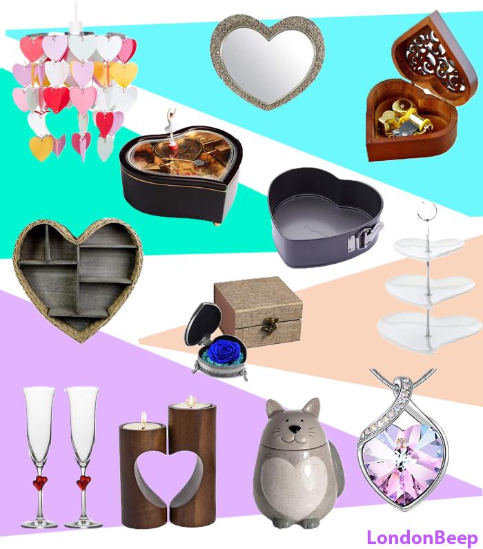 27 Cute Romantic Heart-Shaped Gift Ideas UK 2021 London