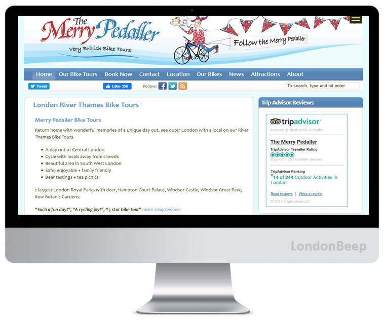 Merry Peddler Bike Tours - Best Bike Tours Companies 2020 in London, UK