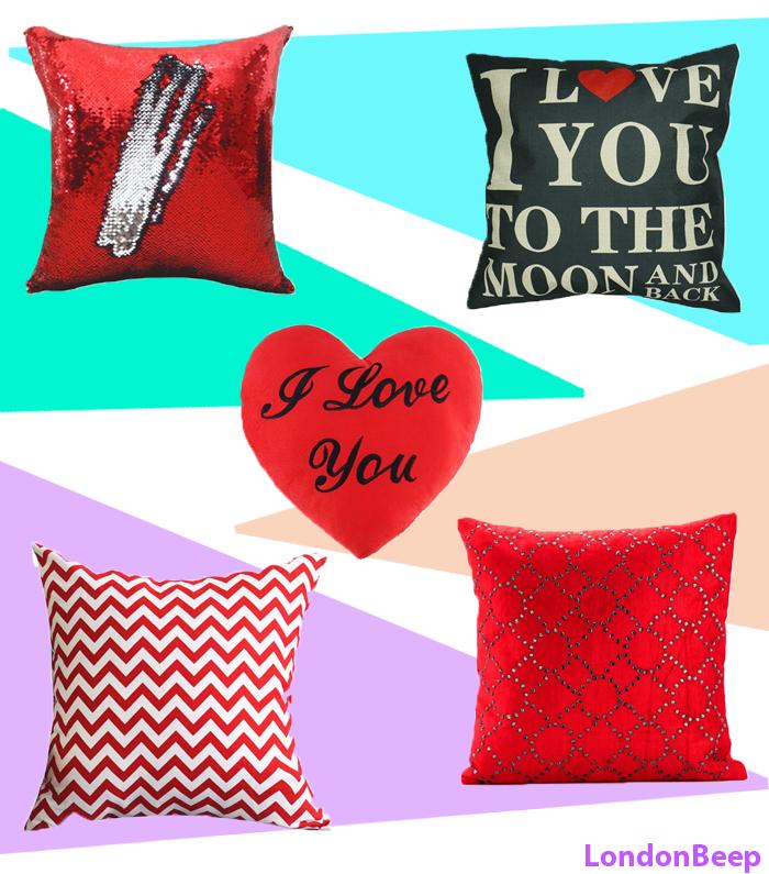 Cute Valentine's Day Cushion Gift Ideas 2020 UK