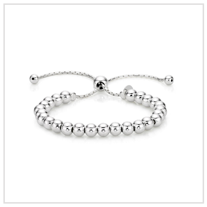 Italian Design Ball Bracelet - Valentine's Day Jewellery Gift for Girlfriend 2020 UK