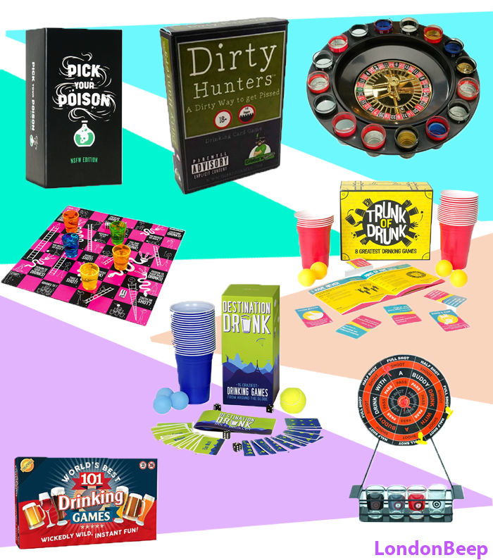 23 Best & Crazy Drinking Games UK 2021 London