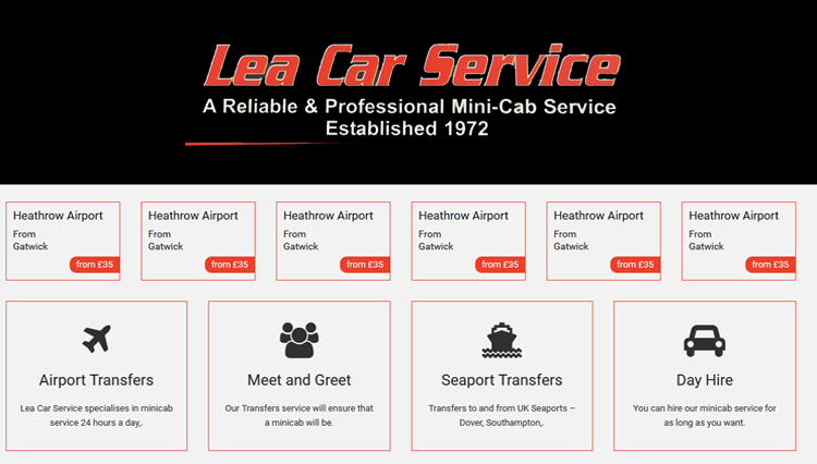 Lea Car Service - Best Car Services 2020 in London, UK