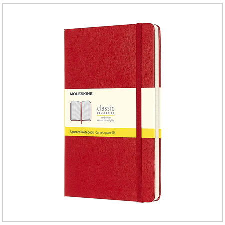 Squared Paper Notebook - Valentine's Day Gifts for Her 2020 UK