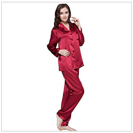Silk Pyjama Set - Valentine's Day Gifts 2020 UK