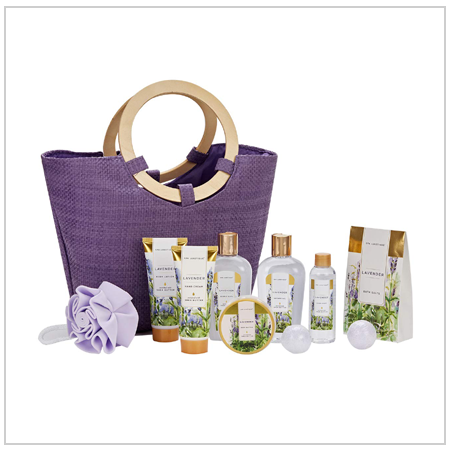 Lavender Spa Bath Gift Set UK