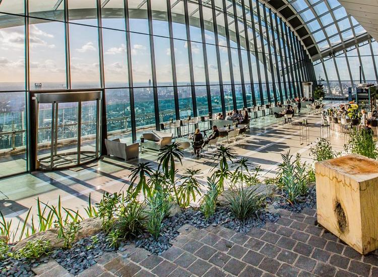 Sky Garden London 2020 - London's Highest Public Garden