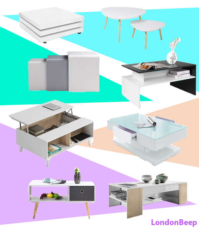 21 Best & Modern Coffee Tables for Living Room 2020 UK