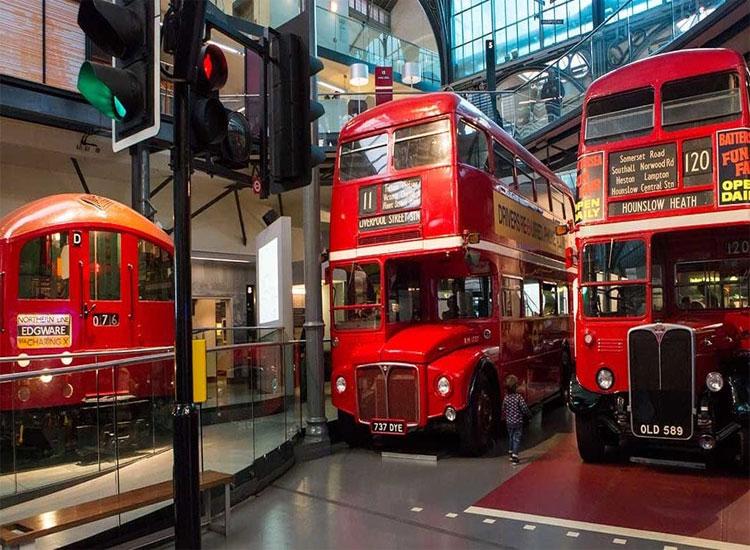 London Transport Museum 2020 UK