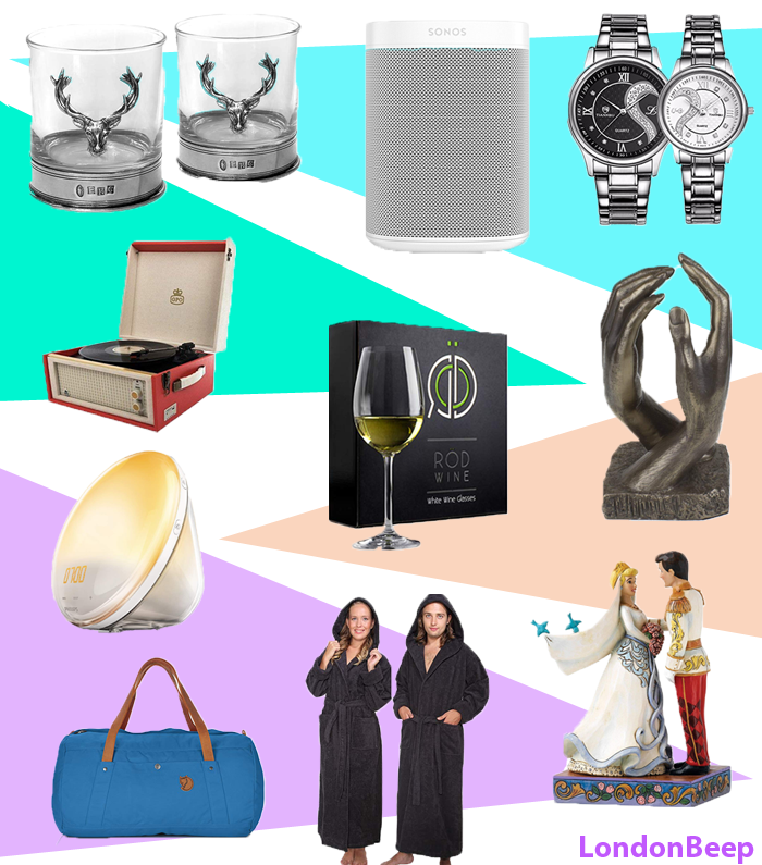 100 Present Ideas & Anniversary Gifts 2020 UK (Him, Her, Couples)