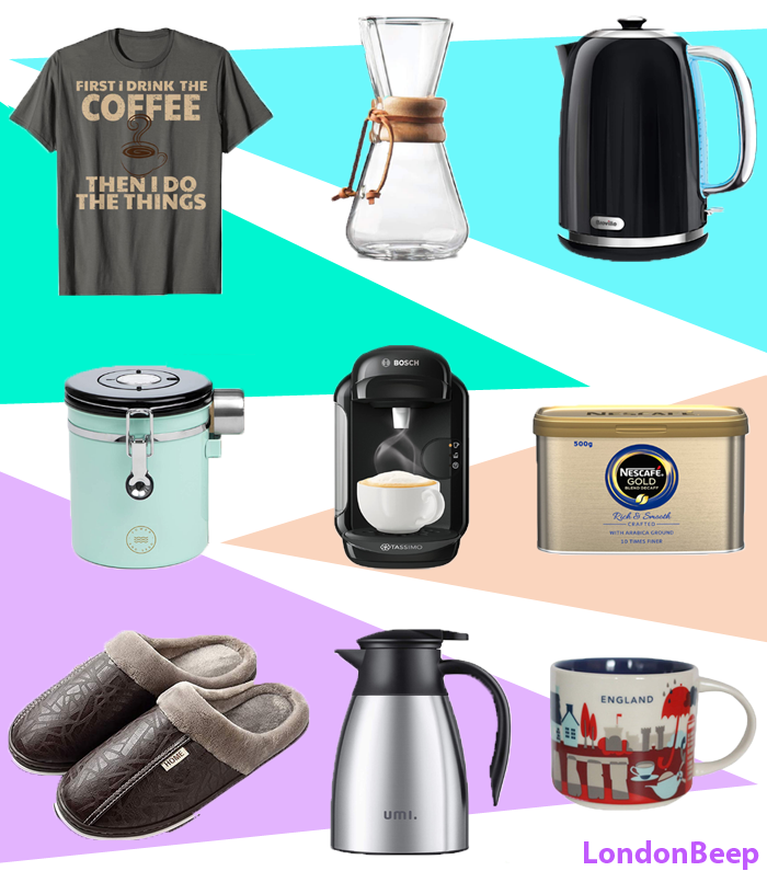 Cool Birthday Gift Ideas for Coffee Lovers UK 2021 London