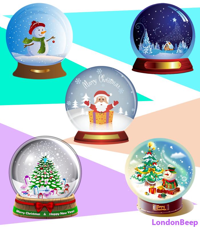 Christmas Snow Globes 2020 UK, London