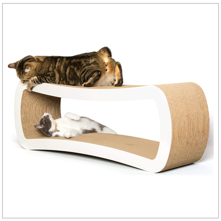 Cat Scratcher Lounge - Gift for Cats 2020 UK