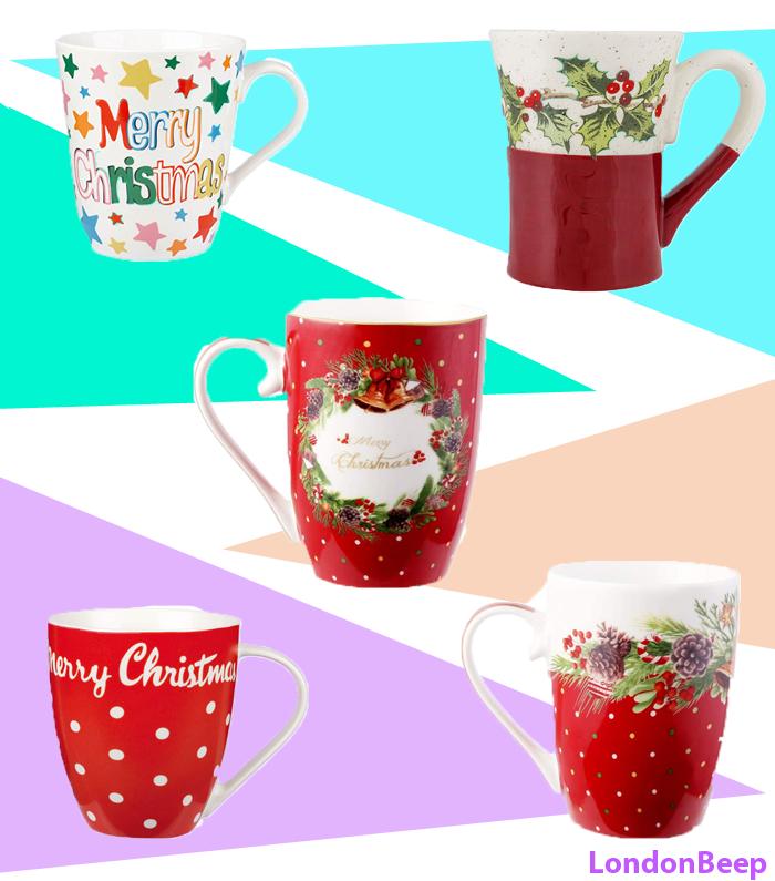 Christmas Cute Mugs 2020 UK Coffee, Tea