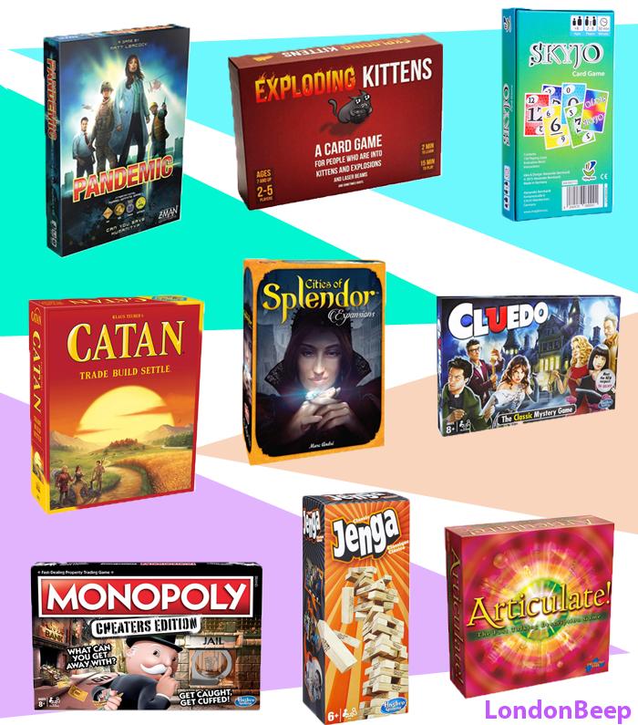 Best Sellers in Board Games Gift Idea 2020 UK, London
