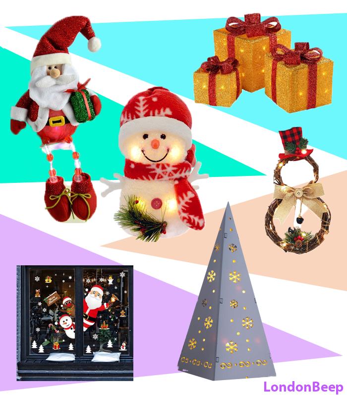 15+ Best Christmas Decorations for Windows 2020 UK, London