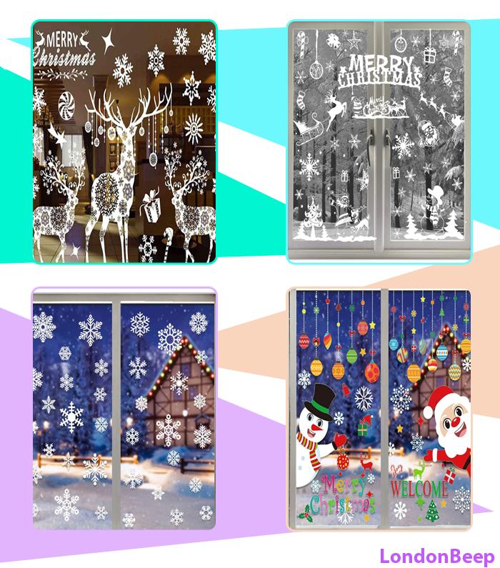 13+ Best Christmas Window Stickers 2020 UK, London