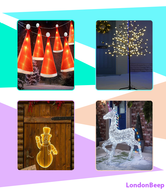 Top 10 Best Outdoor Lighted Christmas Decorations 2020 UK, London