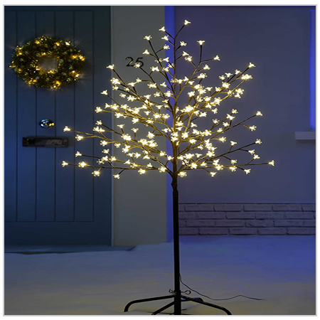 Cherry blossom Tree Stand with Lights 2020 UK
