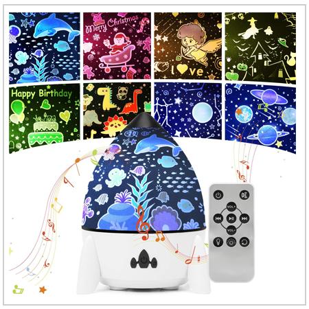 Daphomeu - Best Star Night Light Projector for kids Room 2021 UK