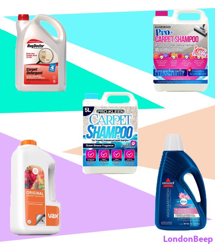 Top 10 Best Carpet Cleaner Shampoo UK 2021 London - Buy Now Online