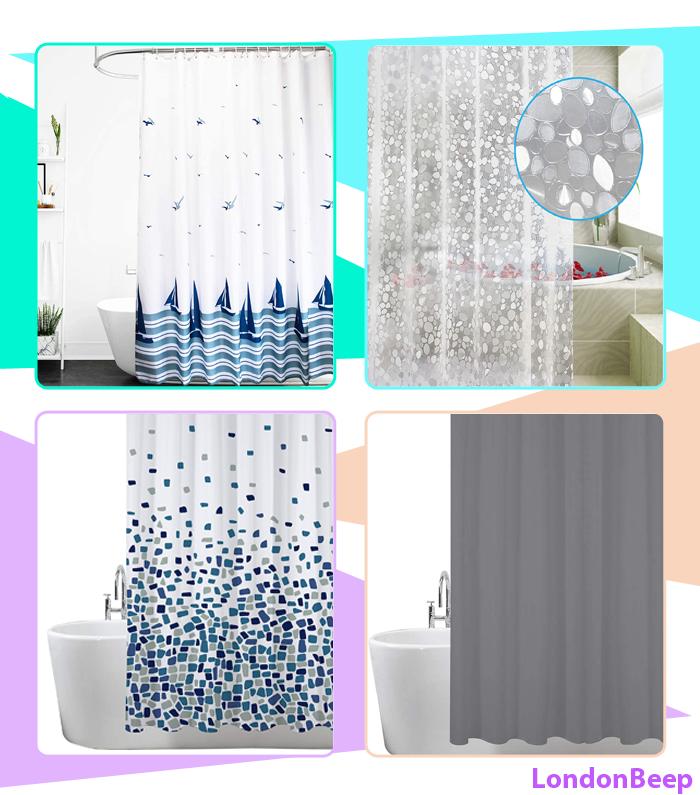 Top 10 Best Shower Curtain UK 2021 London - Buy Now Online