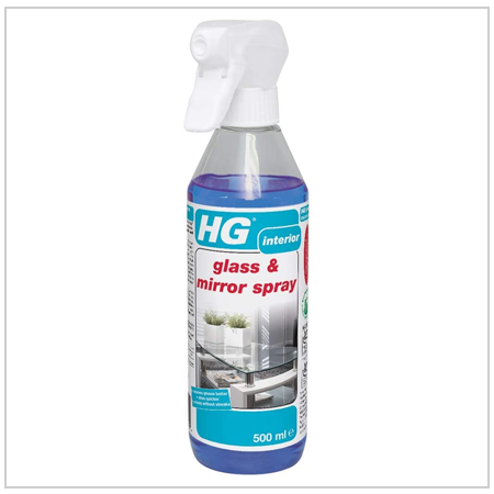 HG Glass & Mirror cleaning spray UK 2021