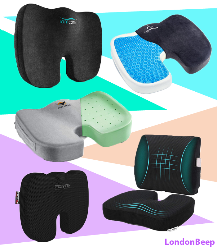 Top 10 Best Seat Cushion for Back Pain UK 2021 London - Buy Now Online