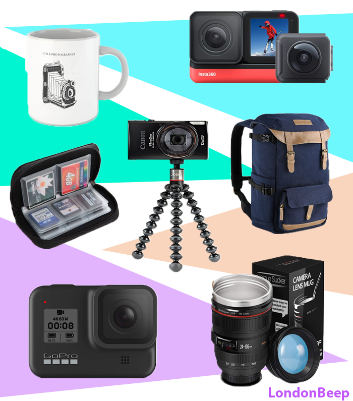 Professional or Beginner's Photographers Gift Ideas, 33 Best Gifts for Photographers UK 2021 London